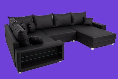 Wohnlandschaft Landhaus Big Sofa Mit Schlaffunktion 2020